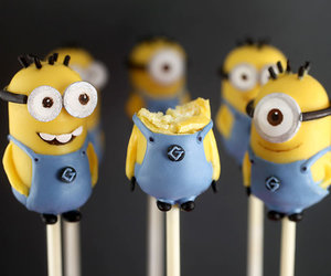 minions, food, and sweet image