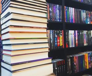book, bookshelf, and quote image