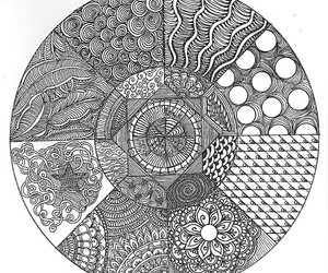 art, zentangle, and inspiration image