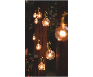background, light bulbs, and light image