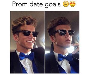 Prom, goals, and guy image