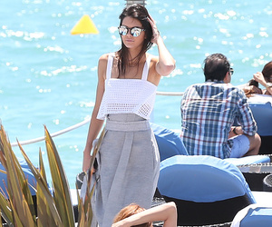 make up, style, and kendall jenner style image