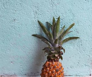 fruit, summer, and pineapple image
