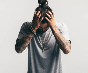tattoo, boy, and man image