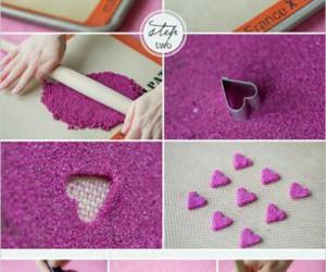 pink, sugar, and diy image