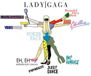 Lady gaga and gaga image