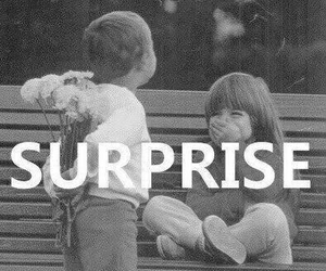 love, surprise, and boy image