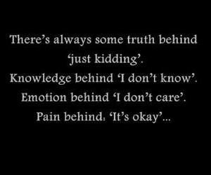 pain and truth image