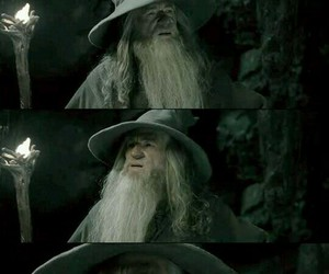 funny, lol, and gandalf image