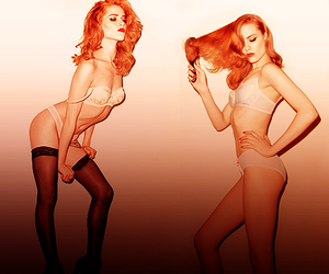 d, ginger, and Evan Rachel Wood image