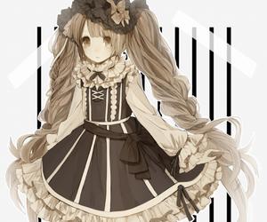 cute, anime, and anime girl image