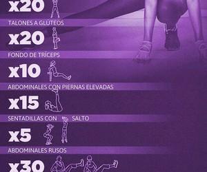 challenge, fitness, and gym image