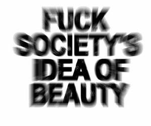 beauty, dark, and feelings image