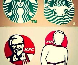starbucks, KFC, and funny image