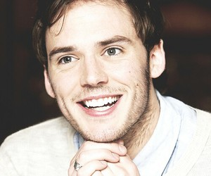 sam claflin, smile, and boy image