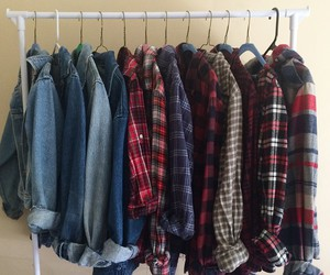 clothes, grunge, and shirt image