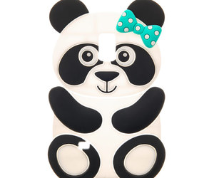 case, panda, and phone case image