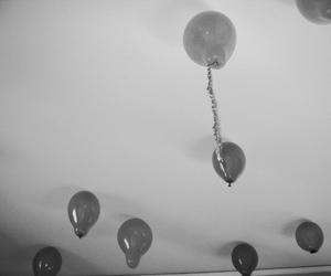 balloon, black, and cool image