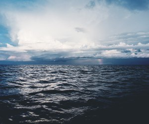 blue, ocean, and beach image