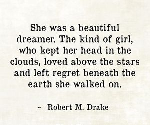 beautiful, girl, and poem image
