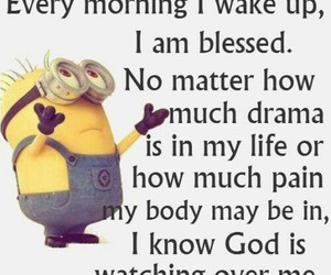 god, minions, and quote image