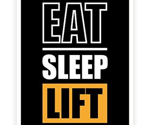 gym, motivational, and posters image