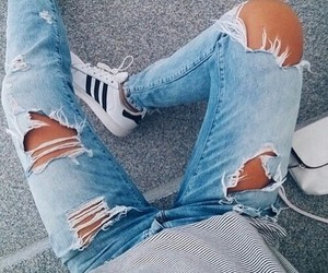 best sneakers 1bfc6 0e599 fashion, adidas, and jeans image
