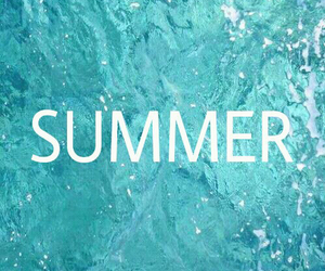 summer, beach, and holiday image
