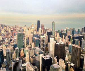 background, chicago, and city image