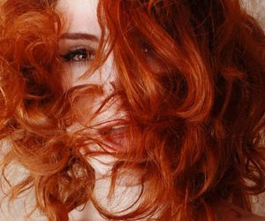 ginger, redhead, and hair image