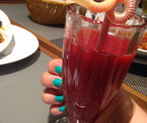 green, juice, and red image