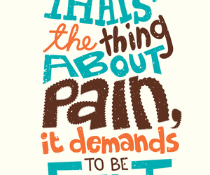 john green, the fault in our stars, and pain image