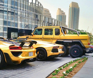 cars, Luxo, and yellow image