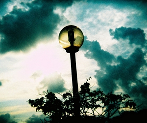 lomography and street lamp image