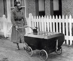 baby carriage, stroll, and gas-resistant image