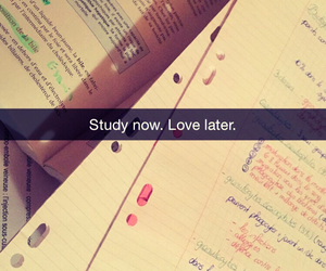 quotes, study, and love image