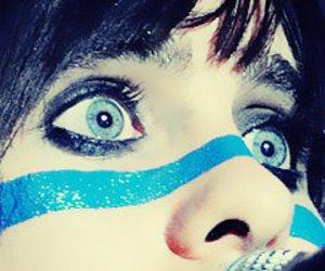 awesome, beauty, and blue eyes image