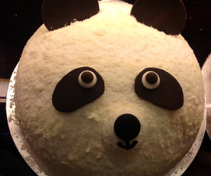 adorable, bear, and cake image
