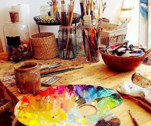 art and paint image