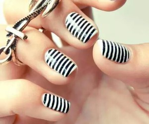 girly, pretty, and nails art image