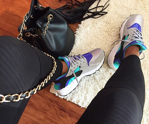 huarache, fashion, and nike image