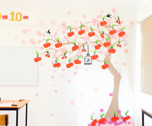 cherry, classroom, and cute image