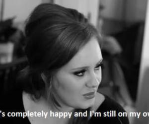Adele, quote, and love image