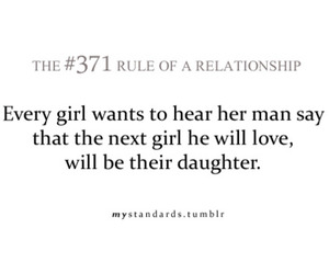 text, true, and rule of a relationship image