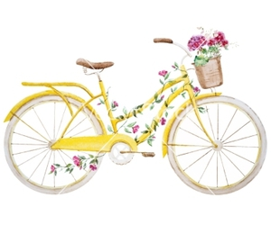 basket, retro, and floral image