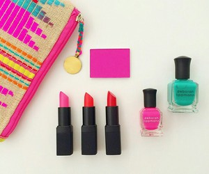 bright, colours, and lipstick image