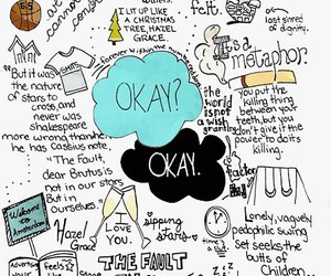 books, gus, and the fault in our stars image