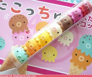 kawaii, ice cream, and japan image
