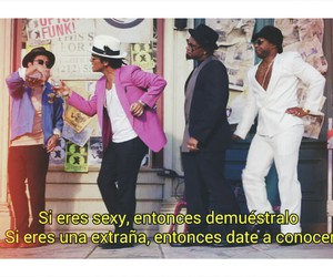 bruno mars, uptown funk, and frases image