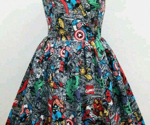 dress, Marvel, and Avengers image